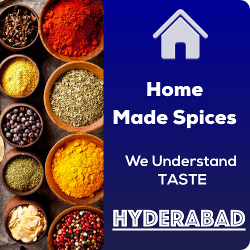 Homemade spices hyderabad logo