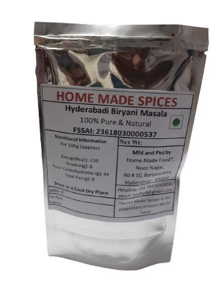 Hyderabadi Biryani Masala by Home made spices