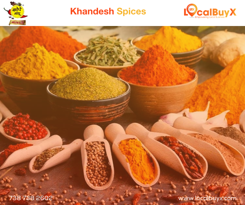Now Get Your Favourite Khandesh Spices From Zope Bandhu Masale