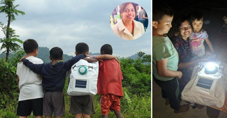 Low Cost Solar Powered 'Jugnu' Backpack For Kids in Remote Regions by IIT Professor